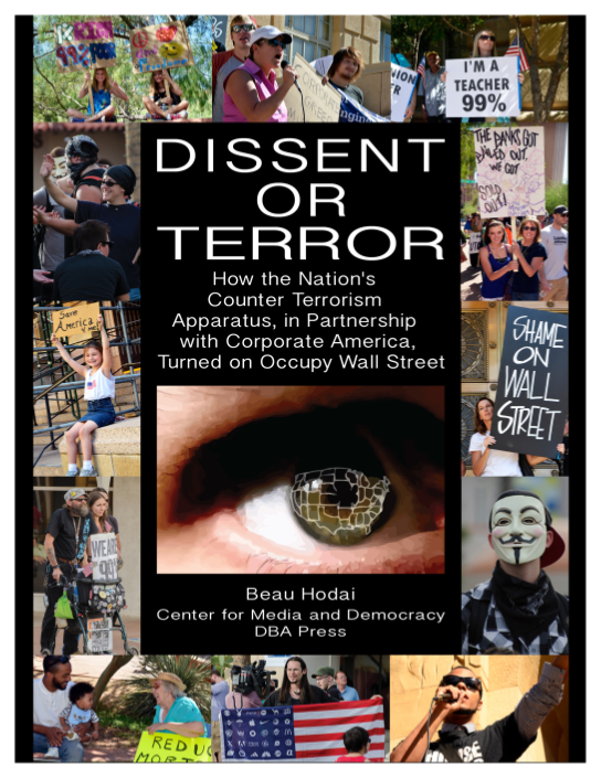 "Cover of ""Dissent or Terror"""