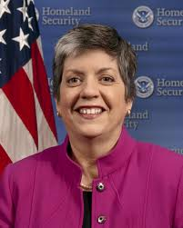 U.S. Secretary of Homeland Security Janet Napolitano