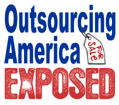 Outsourcing America Exposed badge