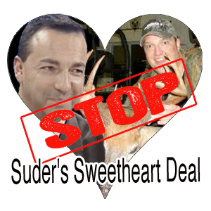 Stop Suder's Sweetheart Deal